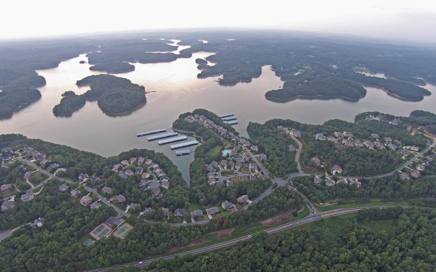 Stunning home for sale in Harbour Point on Lake Lanier