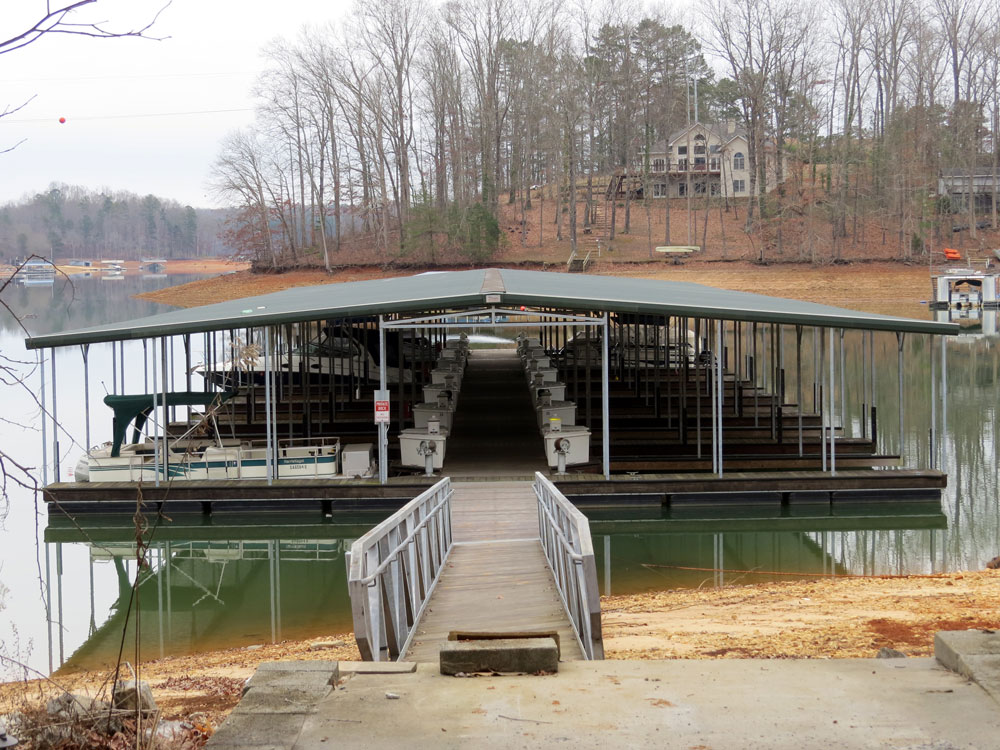 Bargain price on Lake Lanier access with a private marina slip available