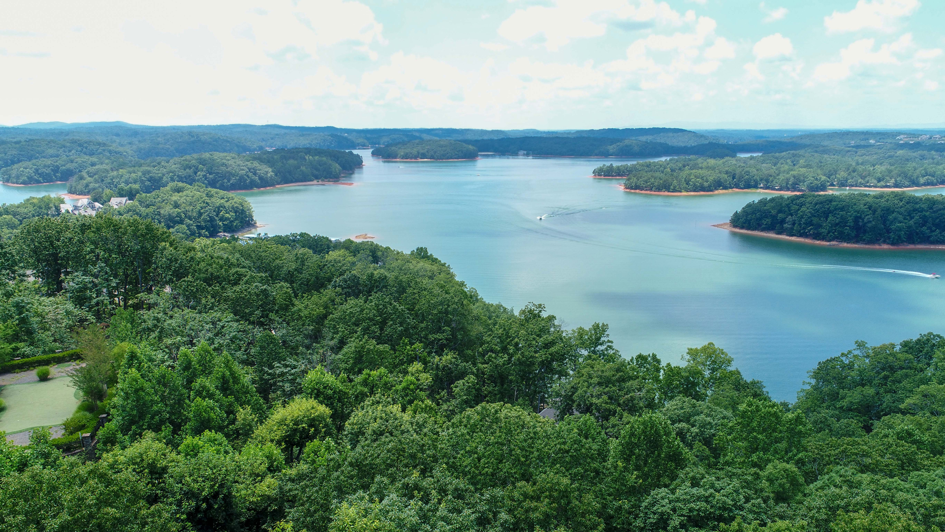 3624 Lake Ridge Court Lot For Sale on Lake Lanier in Harbour Point