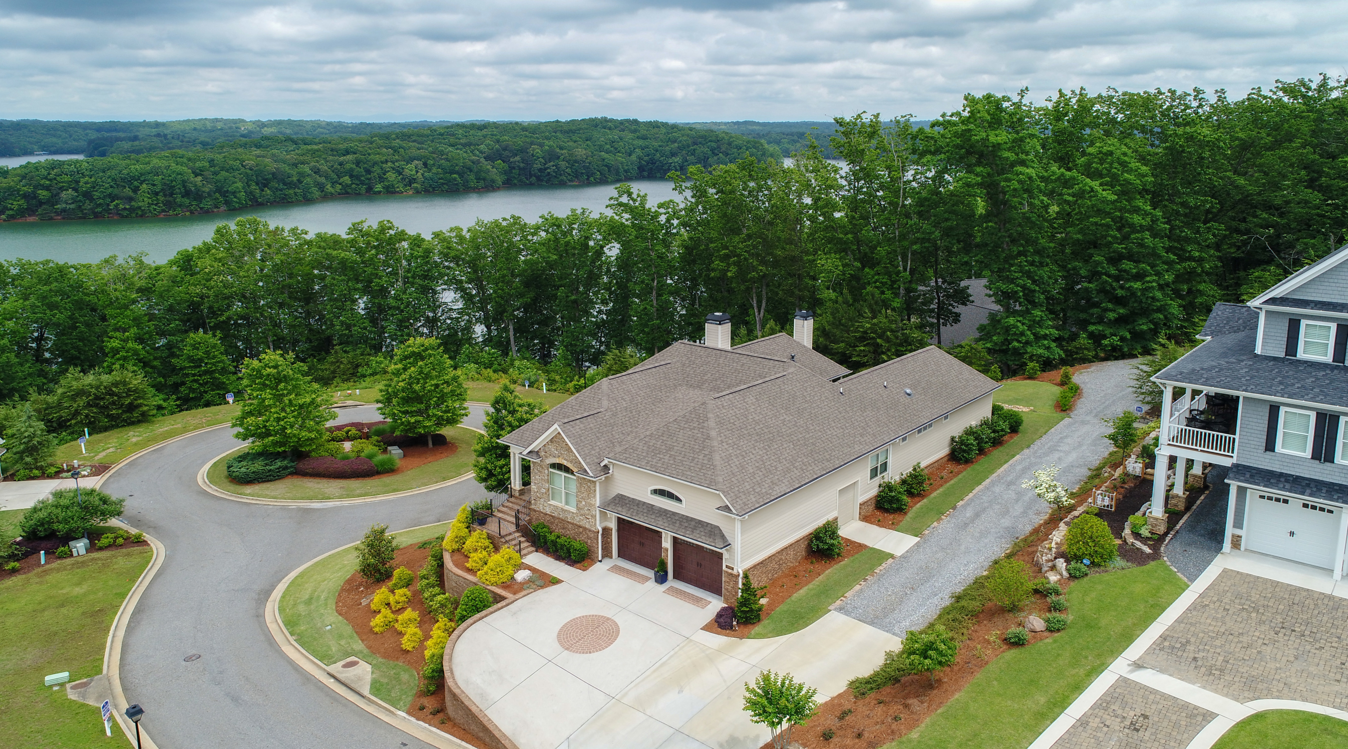 3572 Water Front Drive- Luxury home for sale in Harbour Point on Lake Lanier