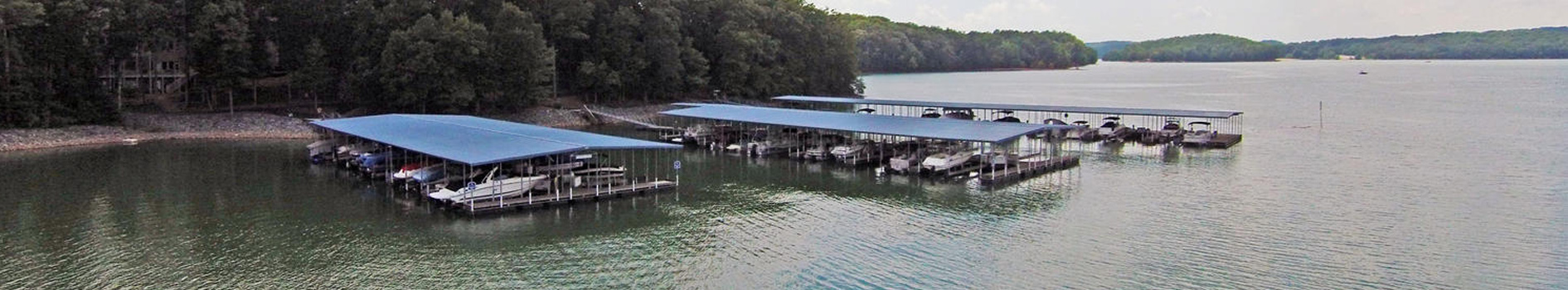 Docks on Lake Lanier