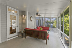 3452 Marina Crest Drive Main Level Screened Porch
