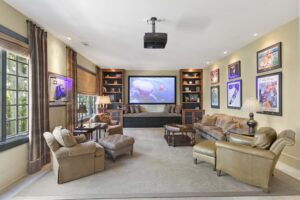 3766 Harbour Landing Drive home for sale in Harbour Point Theater Room