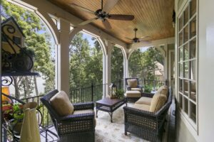 3766 Harbour Landing Drive home for sale in Harbour Point Screened Porch