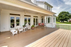 rear covered deck