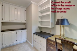 1260-Springdale-Master Office / 2nd Closet