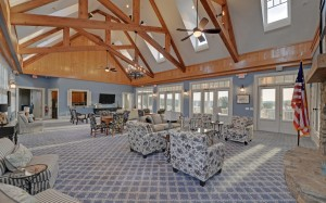 HARBOUR POINT on Lake Lanier - clubhouse grand room